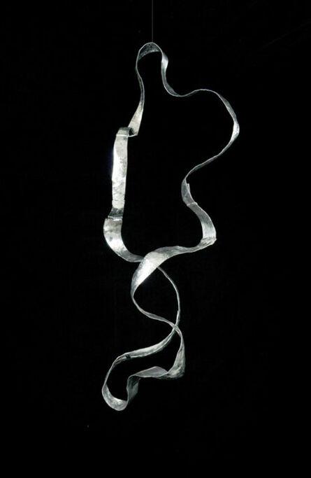 "Jacques Jarrige, '""Waves"" Large mobile SCULPTURE in hammered Aluminum ', 2015"