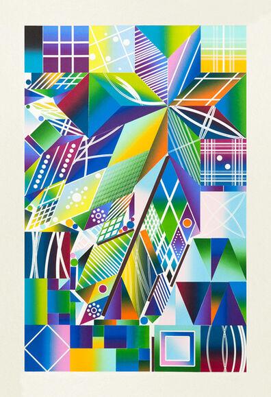 Polly Apfelbaum, 'Atomic Mystic Cosmic 14', 2017