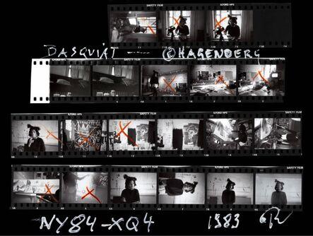 Roland Hagenberg, 'Basquiat Contact Sheet', 1983