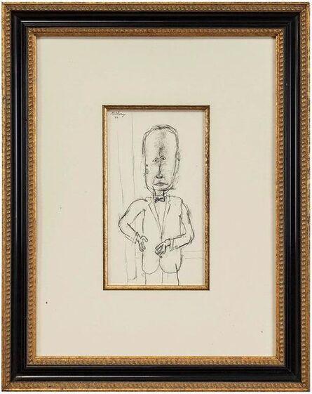 William Anthony, 'Max Beckmann, Portrait', 20th Century