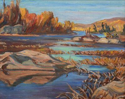Alexander Young Jackson, 'River In Autumn, Algonquin Park', 1935