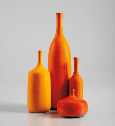 Jacques & Dani Ruelland, 'Four bottles', 1960s