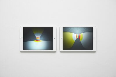 Massimo Grimaldi, 'Abstract Nostalgia, Images Shown on Two Apple iPad Air 2s', 2014