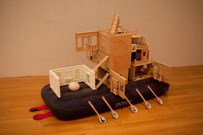 Xu Bacheng, 'A Rabbit's Walking Project in Europe', 2010-2012