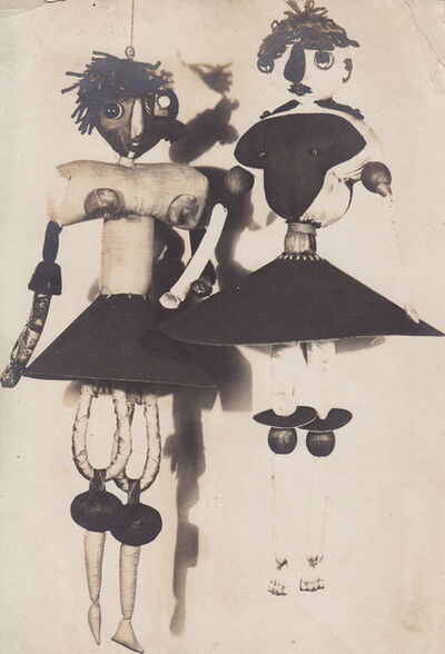 Unknown Artist, 'Photograph of Hannah Höch's Dada Puppets', 1920