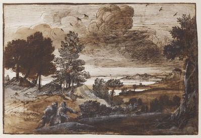 Claude Lorrain, 'Heroic Landscape', 1655-1658