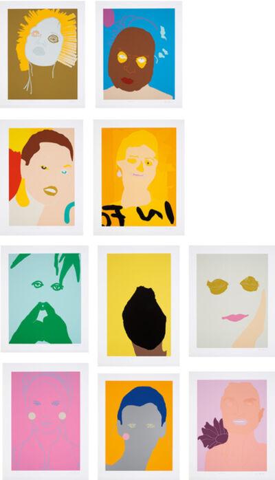 Gary Hume, 'Portraits', 1998