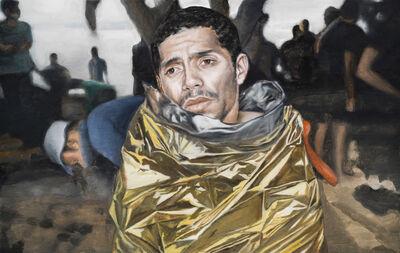 Maryam Najd, 'Golden Agony', 2016