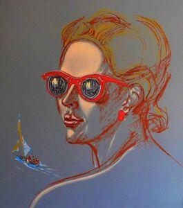 Denis Egelskiy, 'Sun glasses', 1988