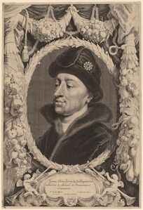 Jonas Suyderhoff after Pieter Claesz Soutman, 'John the Fearless, Duke of Burgundy'