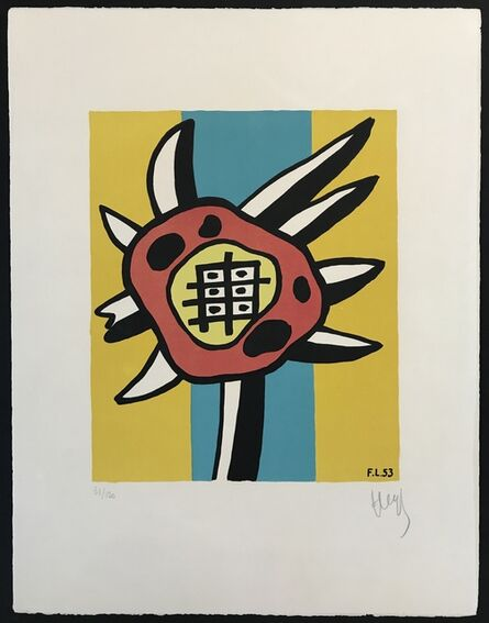 Fernand Léger, 'Le Tournesol (The Sunflower)', 1953