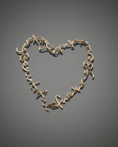 Tim Noble & Sue Webster, 'Fucking Beautful Necklace', 2014