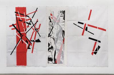 Eugenio Dittborn, 'Cubrir Airmail Painting No. 186', 2017