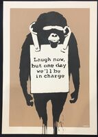 Banksy, 'Laugh Now (Unsigned)', 2004