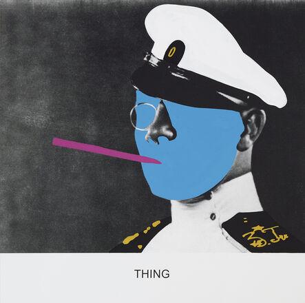 John Baldessari, 'THING', 2015
