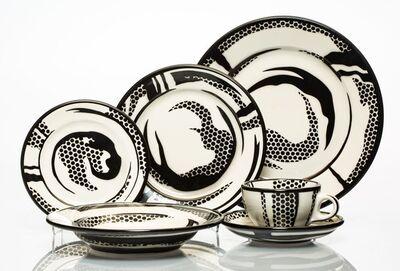 Roy Lichtenstein, 'Dinnerware, group of six works', 1966