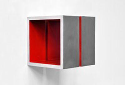 Arno Kortschot, 'Split Cube (Red)', 2015