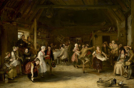 Sir David Wilkie, 'The Penny Wedding', 1818