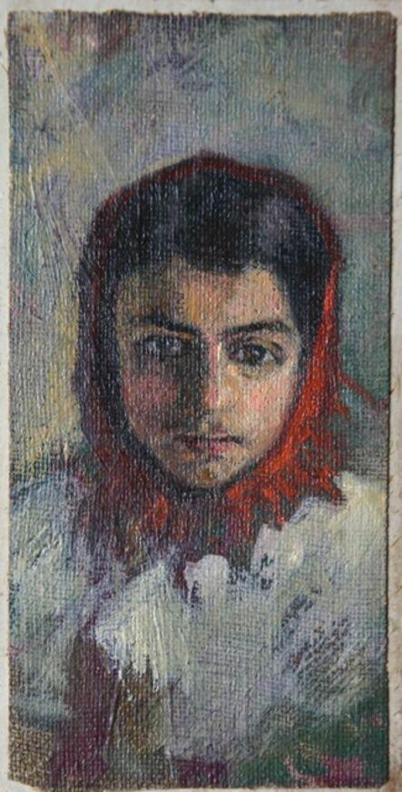 Vassily Dmitrievich Polenov, 'Head of Jew Girl', 1884