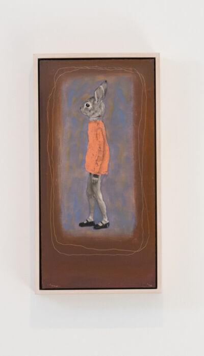 Holly Roberts, 'Rabbit Walking', 2020