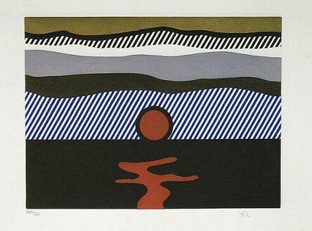 """Roy Lichtenstein, 'Illustration for """"De Nouveau au-dessus de Denver""""', 1992"""
