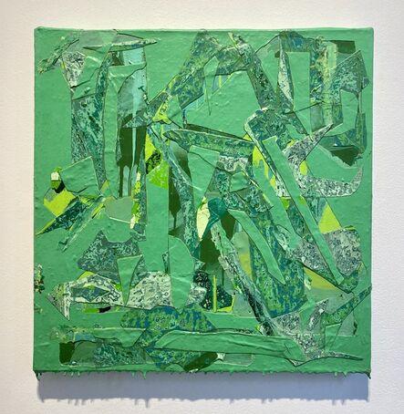 Christina Zurfluh, 'Green in green', 2018-2019
