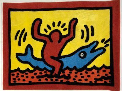 Keith Haring, 'Dolphin Ride', ca. 1990