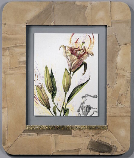 Nall, 'Lily in Leather Frame', 1996