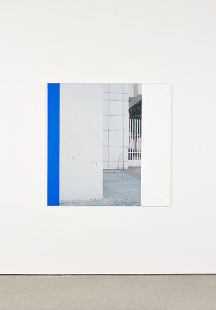 Ian Wallace, 'MACBA Exterior II', 2245