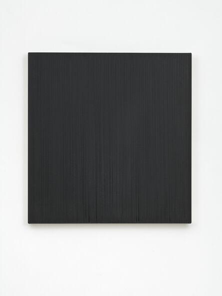 Callum Innes, 'Formed Painting (Black)', 2007