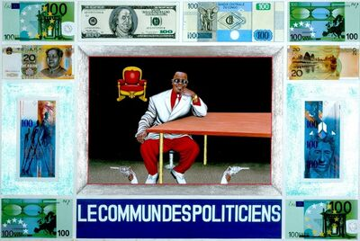 Chéri Samba, 'Le Commun des Politiciens', 2003