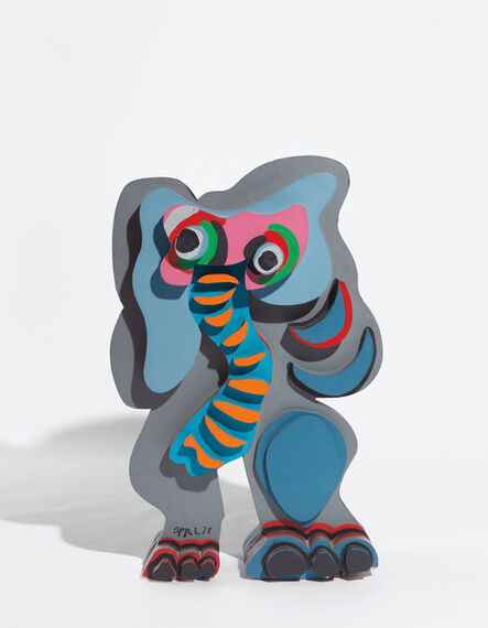 Karel Appel, 'Standing Elephant, from Circus Series', 1978