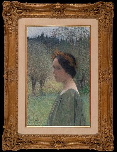 Henri Martin, 'Portrait of a Woman', 1895
