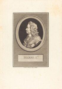Augustin de Saint-Aubin, 'Peter the Great', 1800