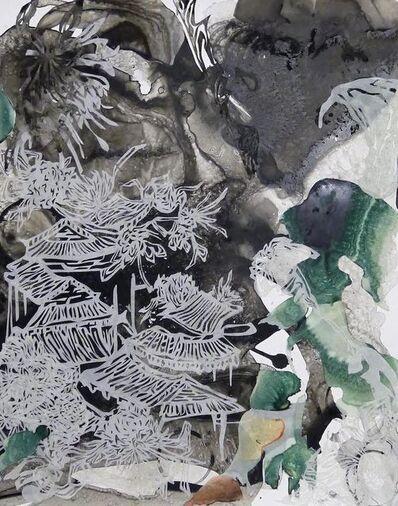 YoAhn Han, 'Landscape with Chrysanthemum II', 2015