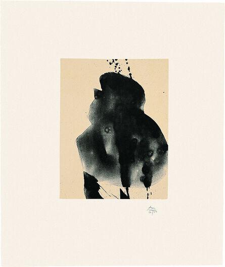 Robert Motherwell, 'Octavio Paz Suite: Nocturne III', 1988