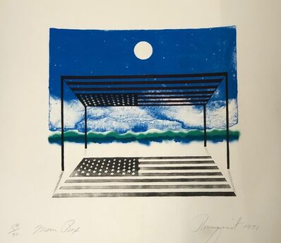 James Rosenquist, 'Moon box', 1971