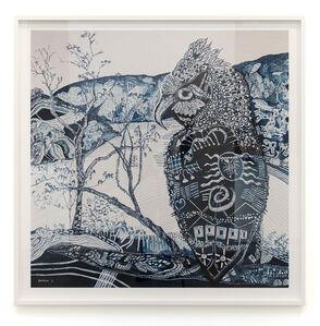 Joshua Yeldham, 'Blue owl – Morning Bay (45/45)', 2019