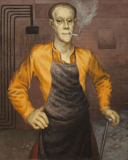 Anne Lyman Powers, 'The Stoker', 1948