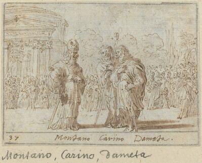 Johann Wilhelm Baur, 'Montano, Carino and Dameta', 1640