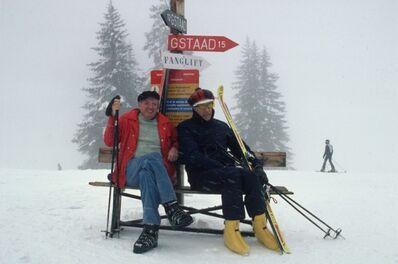 Slim Aarons, 'Skiing Holiday', 1977