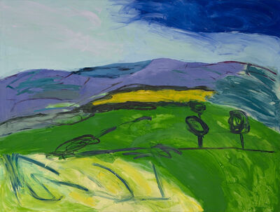 Lucy Jones, 'Blue Remembered Hills', 2011