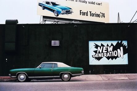 """William Eggleston, 'Untitled, from the series """"Los Alamos"""" (Green Car)'"""