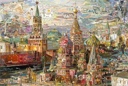 Vik Muniz, 'Postcards from Nowhere: Saint Basil's Cathedral', 2015