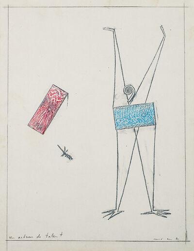 "Max Ernst, '""Un acteur de talent""', 1972"