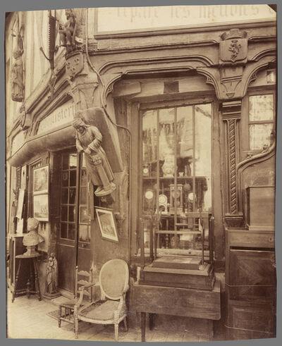Eugène Atget, 'CompiŠgne-Vielle Maison rue des Lombards', 1910
