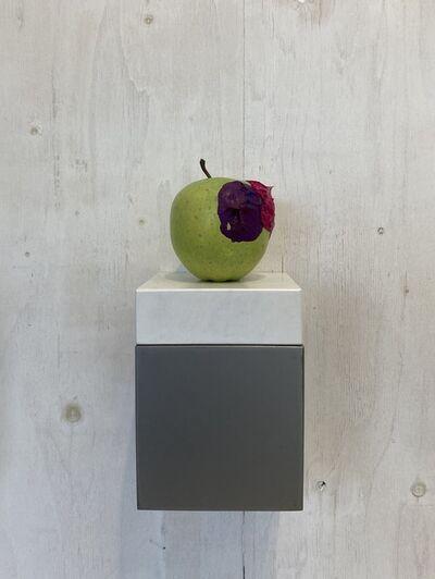 Yosuke Amemiya, 'Apple (cobalt violet &  rose madder)', 2020