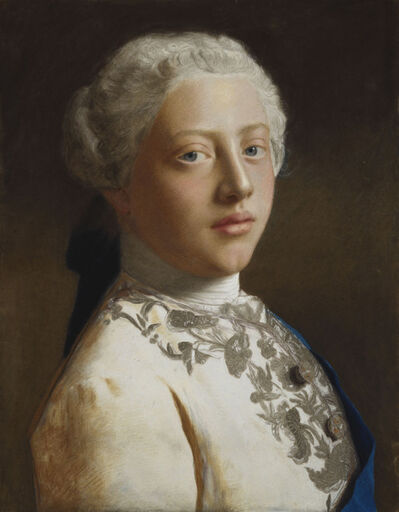 Jean-Étienne Liotard, 'George, Prince of Wales (1738-1820)', 1754