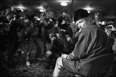 David Corio, 'John Lydon at the Royal Lancaster Hotel, London, UK ', 1983