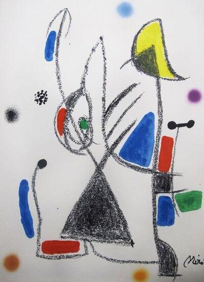 Joan Miró, 'Maravillas con variaciones acrósticas en el jardín de Miró - 16', 1975